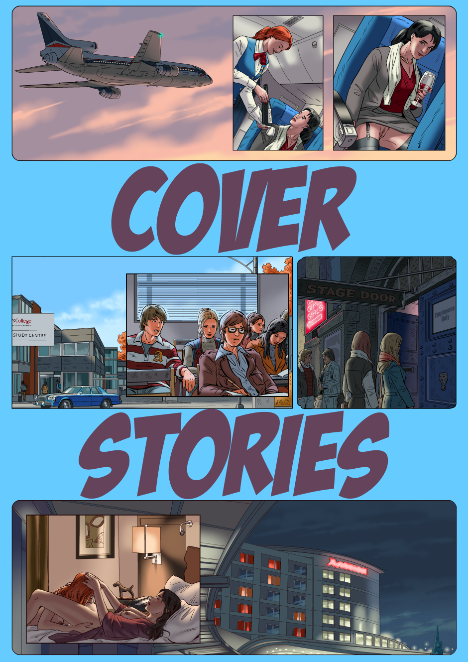 Cover Stories Cover (Patrons)
